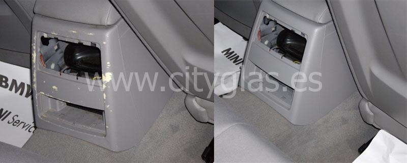 Reparación de plásticos coche guarnecido