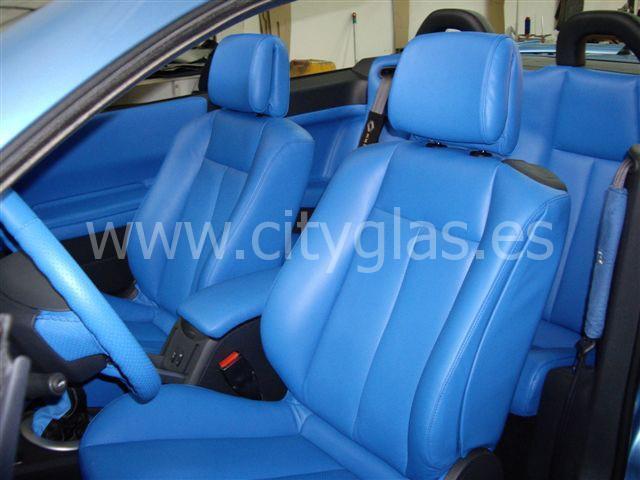 Tapizar asientos volante, puertas coche