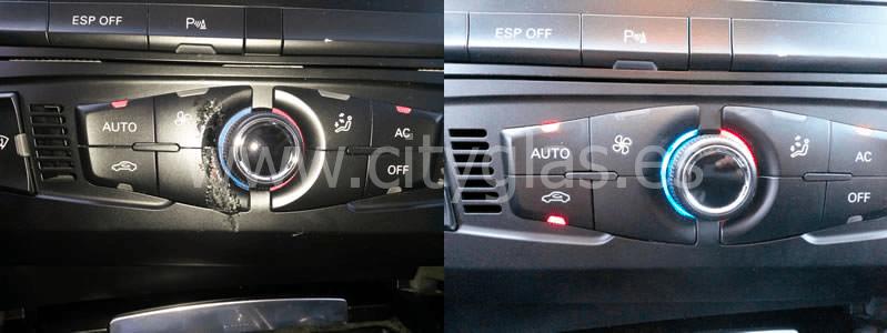 Reparar botonera coche