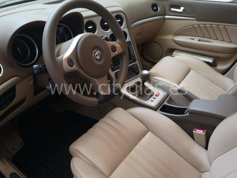 Restauración y tapizado de interior Alfa Romeo 159