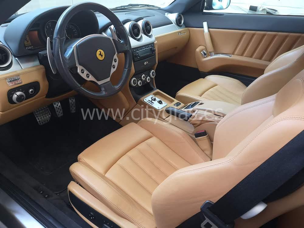 restaurar tapicería de piel Ferrari