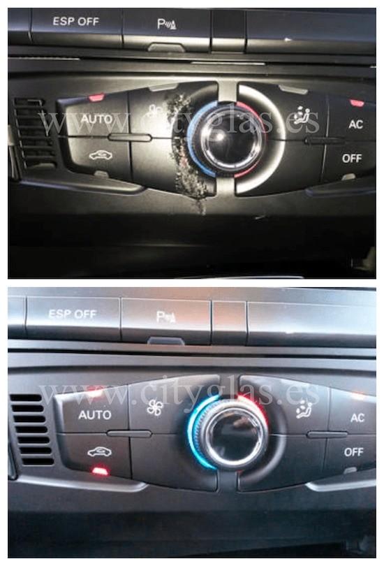 reparacion de botones en coche