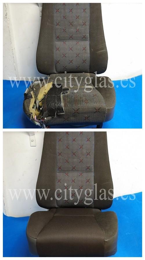 reparar espuma y tapizar asiento camion