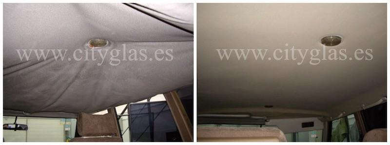 Tapizado de techo madrid