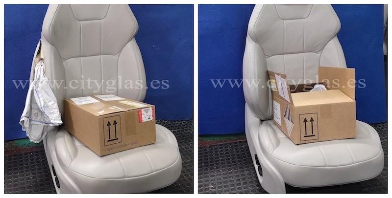 cambiar airbag en asiento de coche