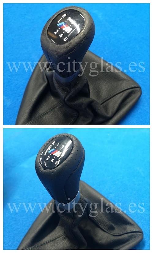 tapizar pomo de palanca de cambios BMW