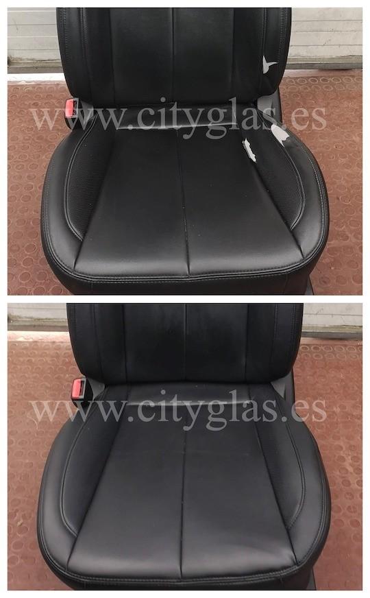 reparar tapizado asientos coche