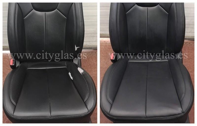 tapizar asiento de coche por piezas