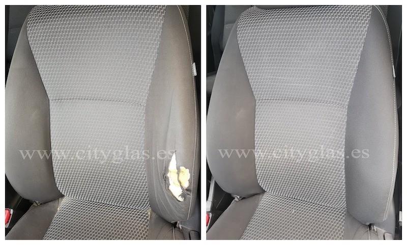 cambiar lateral de asiento de coche