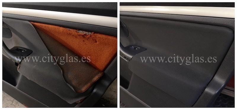 arreglar panel de puerta coche despegado