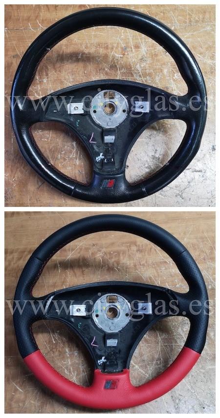 personalizar tapizado de volante